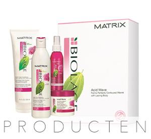 haarproducten van matrix